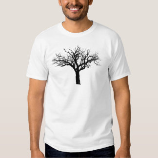 George Washington's Tree - White Tshirts