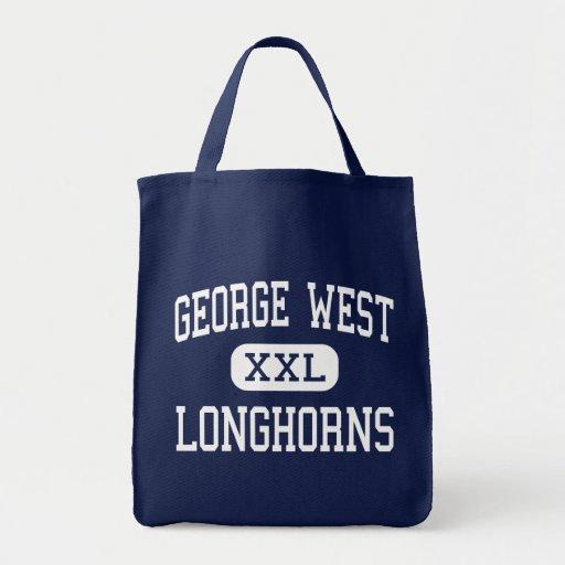 George West - Longhorns - High - George West Texas Canvas Bags