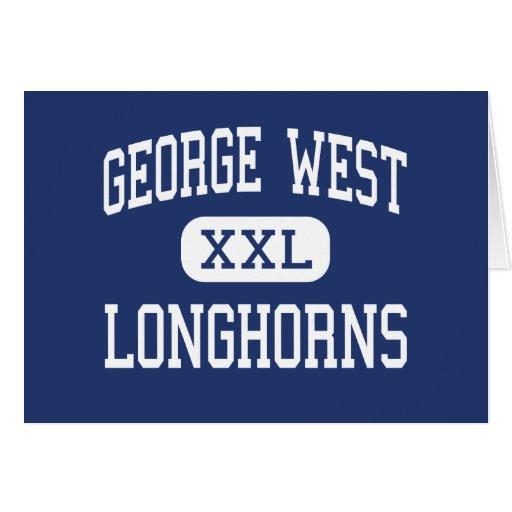 George West - Longhorns - High - George West Texas Card