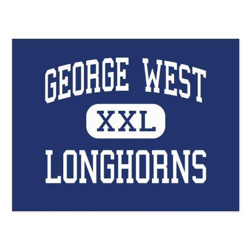 George West - Longhorns - High - George West Texas Post Cards
