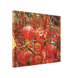 Georgeous Japanes Lantern Photograph Canvas Print
