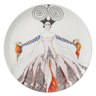 Georges Barbier Art Deco Fashion Plate
