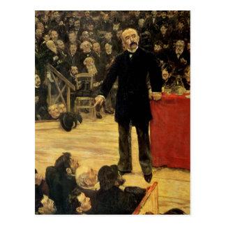 Georges Clemenceau Postcard