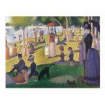 Georges Seurat - A Sunday on La Grande Jatte Postcards