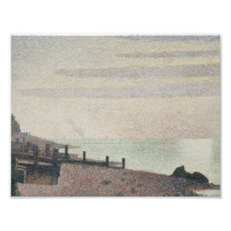 Georges Seurat - Evening, Honfleur Art Photo