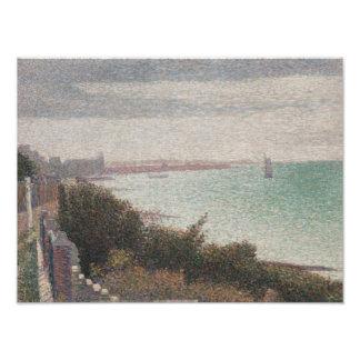 Georges Seurat - Grandcamp, Evening Photographic Print