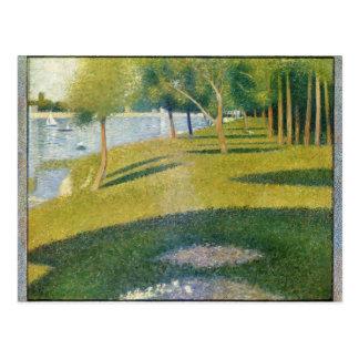 Georges Seurat- La Grande Jatte Postcard
