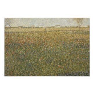 Georges Seurat - La Luzerne, Saint-Denis Photograph
