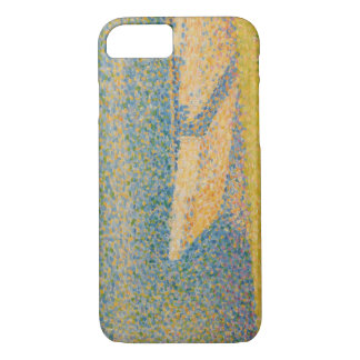 Georges Seurat - Moored Boats and Trees iPhone 7 Case