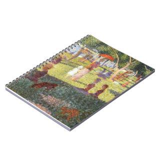 Georges Seurat-Sketch for Sunday Noon,Grande Jatte Notebooks