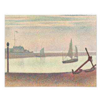 Georges Seurat - The Channel at Gravelines Photograph