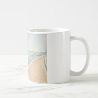 Georges Seurat - The Channel of Gravelines Coffee Mug