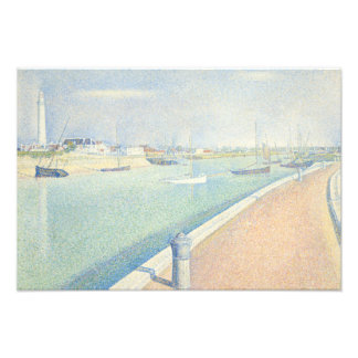 Georges Seurat - The Channel of Gravelines Photo Art