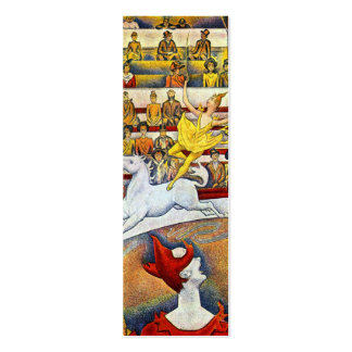 Georges Seurat - The Circus Pack Of Skinny Business Cards