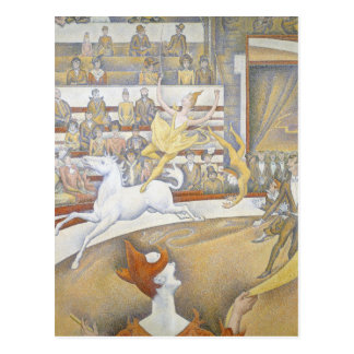 Georges Seurat - The Circus Postcard