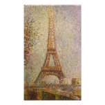 Georges Seurat-The Eiffel Tower Poster