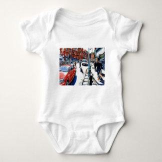 georges st dublin baby bodysuit