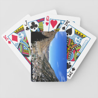 Georgetown In The Winter Bicycle Playing Cards