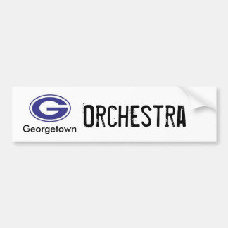 Georgetown Orchestra bumper sticker