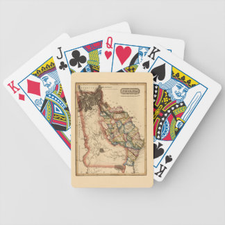 Georgia 1817 bicycle playing cards