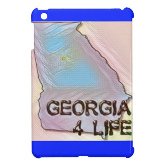 """Georgia 4 Life"" State Map Pride Design Cover For The iPad Mini"