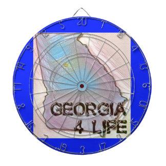 """Georgia 4 Life"" State Map Pride Design Dartboard"