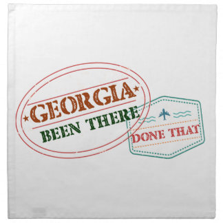 Georgia Been There Done That Napkin