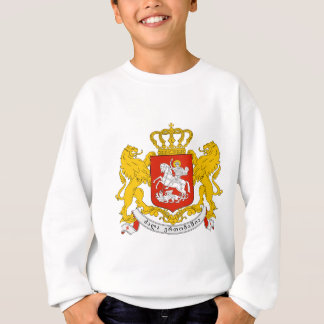 Georgia coat of arms sweatshirt