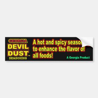 Georgia Devil Dust Bumper Sticker