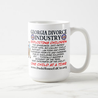 Georgia Divorce Industry. Basic White Mug