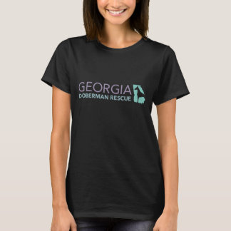 Georgia Doberman Rescue Black T-shirt