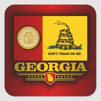 Georgia (DTOM) Square Sticker