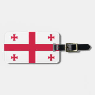 Georgia Flag Bag Tag
