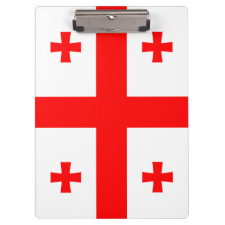 Georgia Flag Clipboard