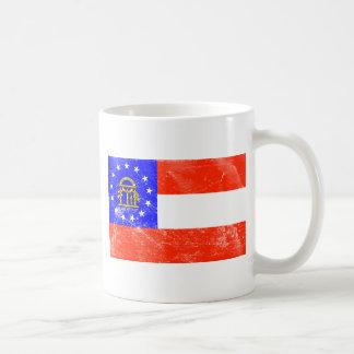 Georgia Flag (Distressed) Coffee Mug