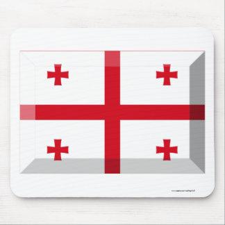 Georgia Flag Jewel Mousepad
