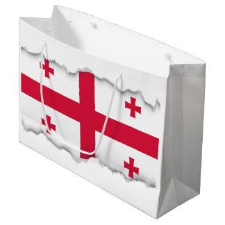 Georgia Flag Large Gift Bag