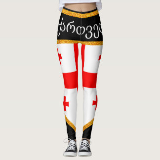 Georgia Flag Leggings
