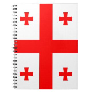 Georgia Flag Notebook