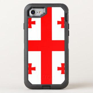 Georgia Flag OtterBox Defender iPhone 8/7 Case