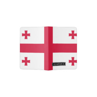 Georgia Flag Passport Holder