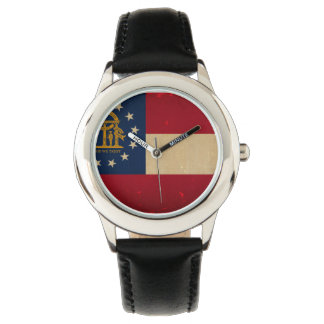 Georgia Flag VINTAGE.png Watches