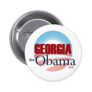 Georgia for Obama Pin