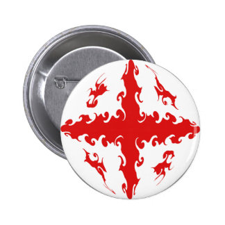 Georgia Gnarly Flag Pin
