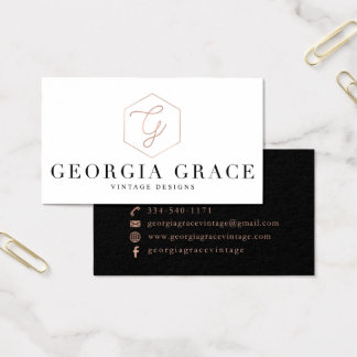 Georgia Grace Custom Business Cards