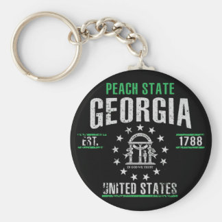 Georgia Key Ring