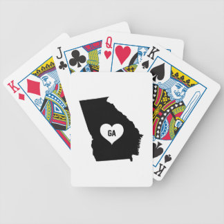 Georgia Love Bicycle Playing Cards