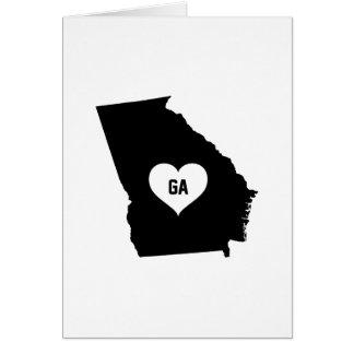 Georgia Love Card