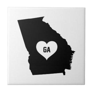 Georgia Love Ceramic Tile