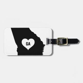 Georgia Love Luggage Tag